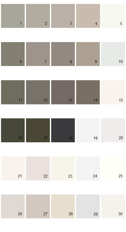 Valspar Paint Colors Tradition Palette 46 House Paint