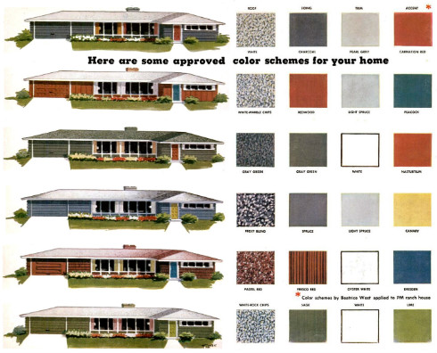 Beautiful Popular Exterior Paint Colors Options