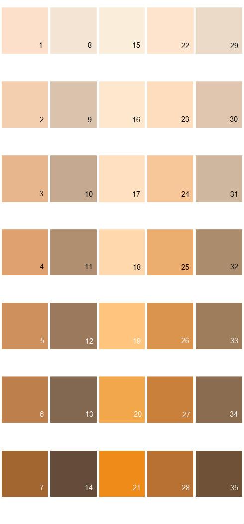 Behr Paint Colors Colorsmart Palette 12