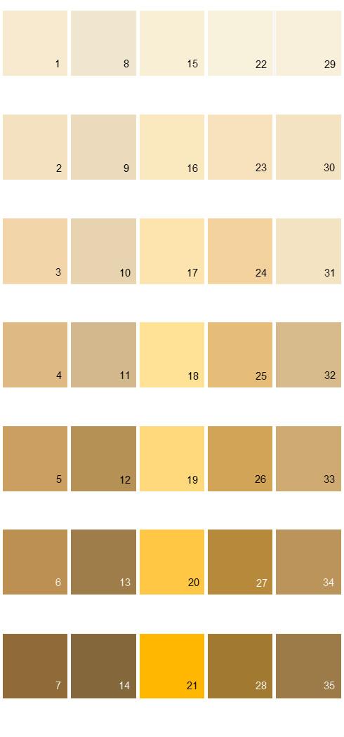Behr Paint Colors Colorsmart Palette 15