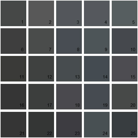 Benjamin Moore Black House Paint Colors Palette 01