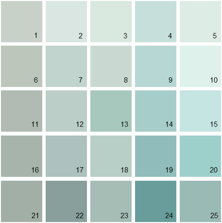 Benjamin Moore Blue House Paint Colors Palette 01