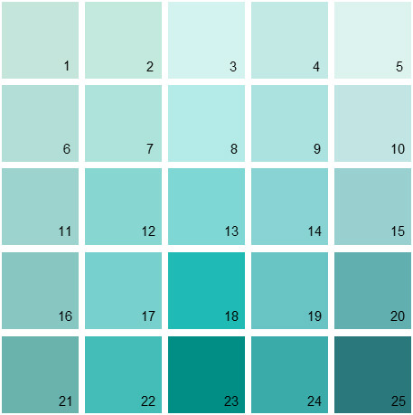 Benjamin Moore Blue House Paint Colors Palette 02