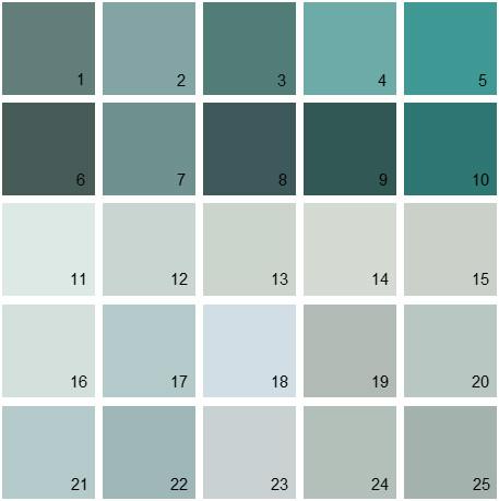 Benjamin Moore Blue House Paint Colors Palette 06
