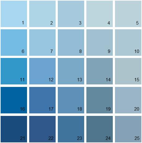 Benjamin Moore Blue House Paint Colors Palette 16