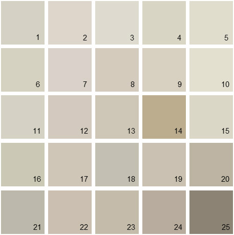 Benjamin Moore Gray House Paint Colors Palette 01