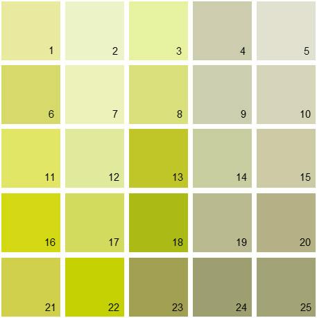 Benjamin Moore Green House Paint Colors Palette 04