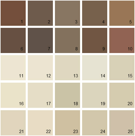 Benjamin Moore Neutral House Paint Colors Palette 08