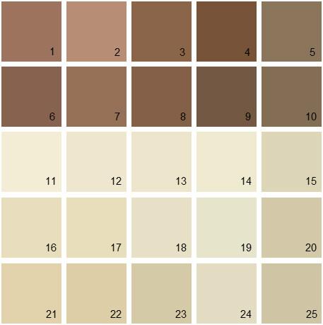 Benjamin Moore Neutral House Paint Colors Palette 09