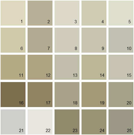 Benjamin Moore Neutral House Paint Colors Palette 15