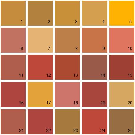 Benjamin Moore Orange House Paint Colors