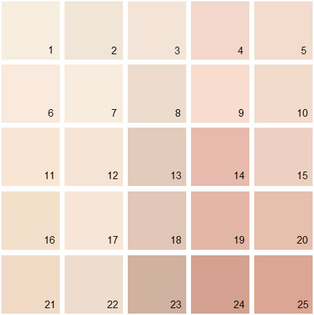 Benjamin Moore Pink House Paint Colors Palette 01