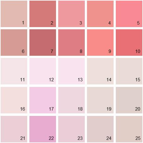 Benjamin Moore Pink House Paint Colors