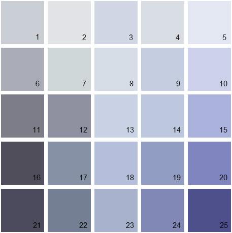 Benjamin Moore Purple House Paint Colors Palette 01