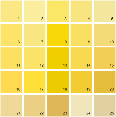 yellow paint colors benjamin paint colors yellow palette 11 house 30792