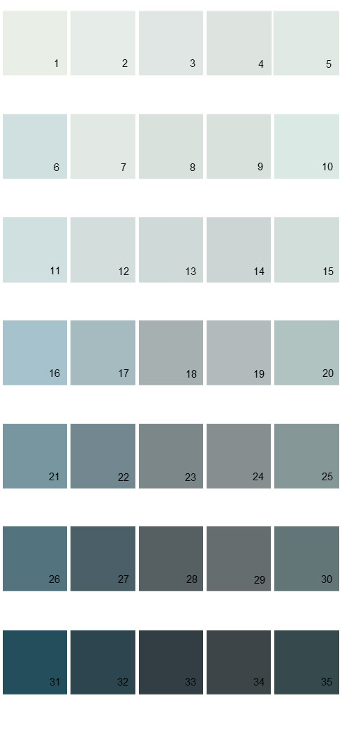 Pittsburgh Paints House Paint Colors Palette 54