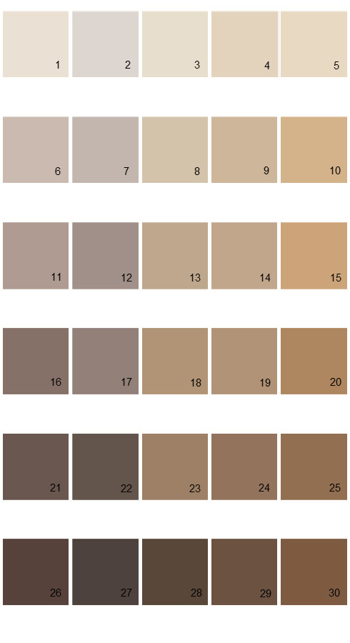 Pratt And Lambert Calibrated House Paint Colors Palette 26