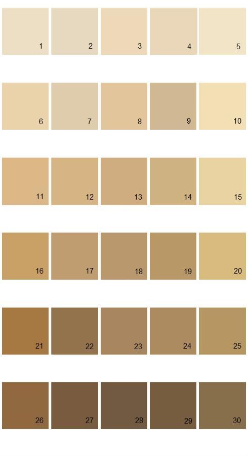 Pratt And Lambert Calibrated House Paint Colors Palette 28