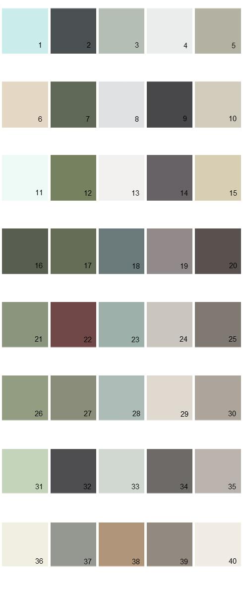 Pratt And Lambert Paint Colors