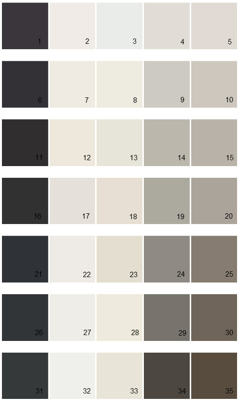 Sherwin Williams Essentials House Paint Colors Palette 01