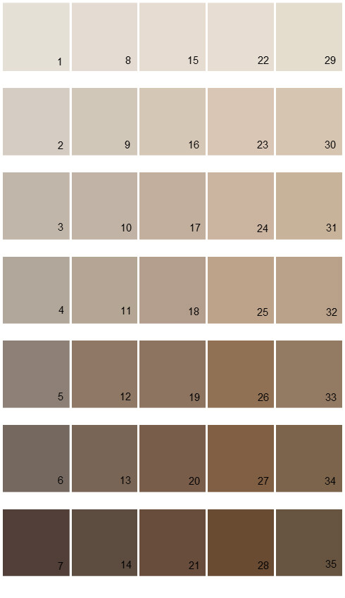Sherwin Williams Fundamentally Neutral House Paint Colors Palette 03
