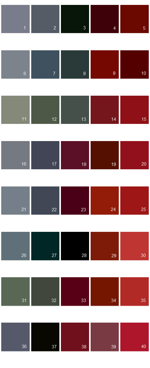 Valspar Colony House Paint Colors Palette 05