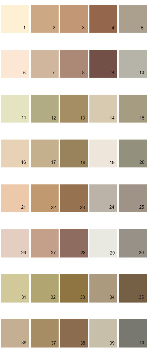 Valspar Colony House Paint Colors Palette 09