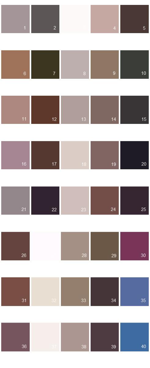 Valspar Colony House Paint Colors Palette 12